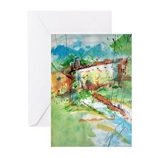 Landscape Painting Greeting Cards (Pk of 20)