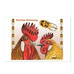 Sicilian Buttercup Chickens Postcards (Package of