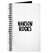 Hanson Rocks Journal