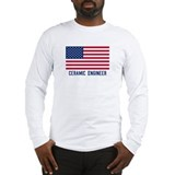 Ameircan Ceramic Engineer Long Sleeve T-Shirt