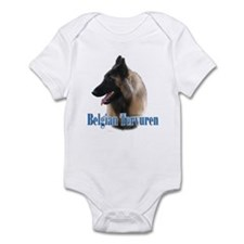 Tervuren Name Infant Bodysuit