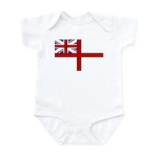 royal navy flag oblong Body Suit