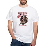 Defending America White T-Shirt