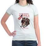 Defending America Jr. Ringer T-Shirt