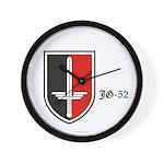 JG-52 Squadron Badge Wall Clock