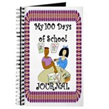 100th Day of School Girls Share Journal
