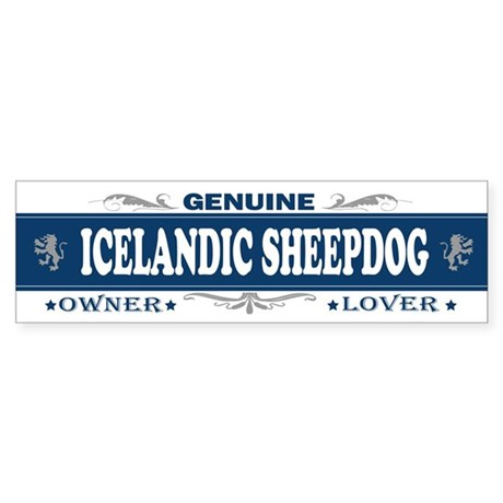 ICELANDIC SHEEPDOG Bumper Sticker