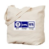 Eat, Sleep, Camp (RV style) Tote Bag