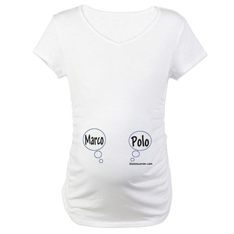 Marco Polo Twins Maternity Tee Shirt