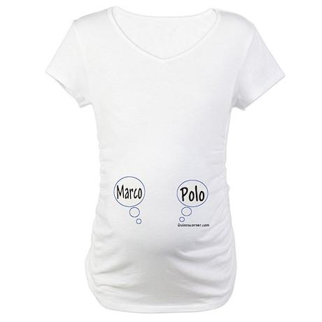 Marco Polo Twins Maternity Tee Shirt