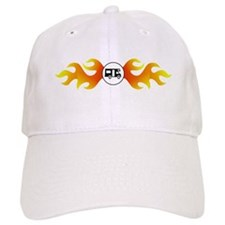 Flame Design with RV Baseball Cap