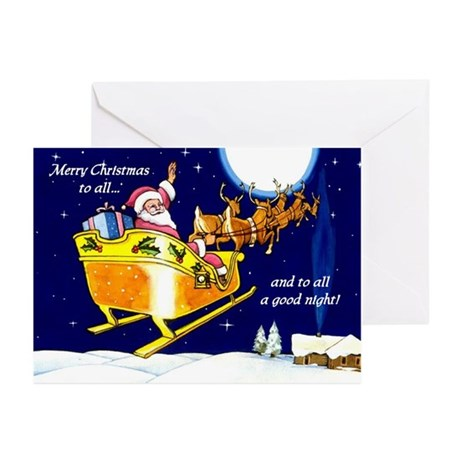 To All a Good Night Greeting Cards (Pk of 10)