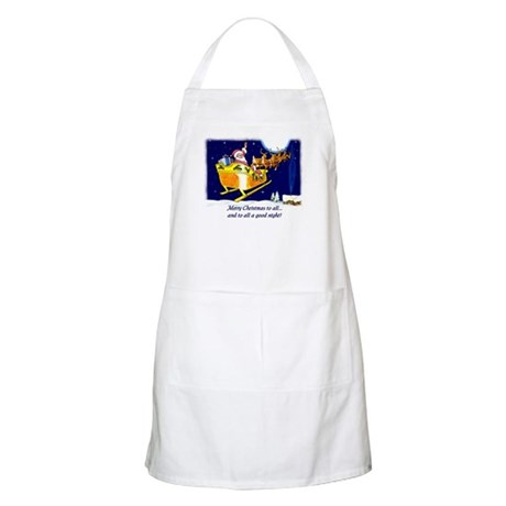 To All a Good Night BBQ Apron