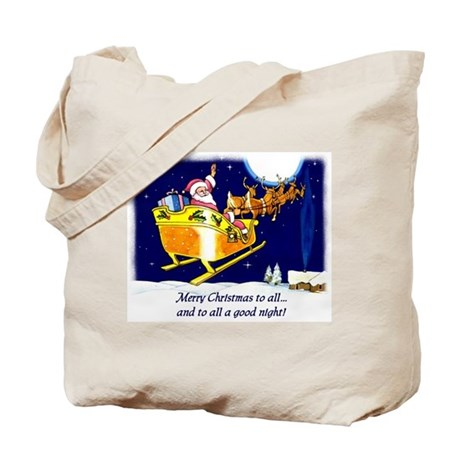 To All a Good Night Tote Bag