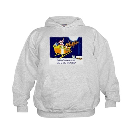 To All a Good Night Kids Hoodie