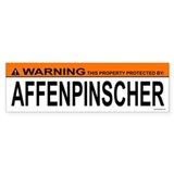 AFFENPINSCHER Bumper Car Sticker
