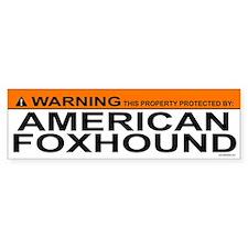 AMERICAN FOXHOUND Bumper Bumper Sticker
