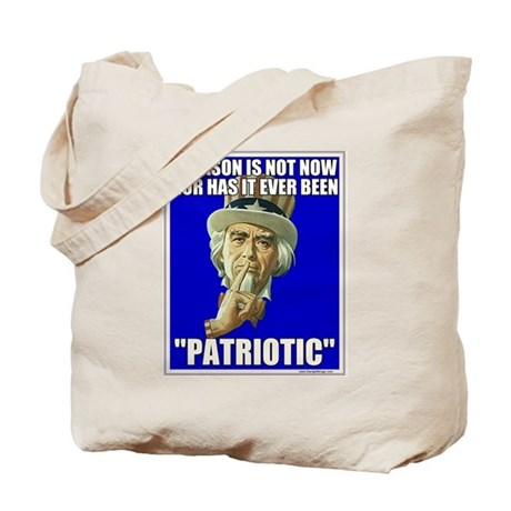 Treason Is Not Patriotic Tote Bag