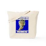 Treason Is Not Patriotic Tote Bag