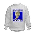 Treason Is Not Patriotic Kids Sweatshirt
