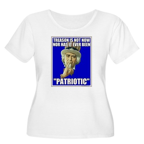 Treason Is Not Patriotic Women's Plus Size Scoop N