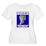 Treason Is Not Patriotic Women's Plus Size Scoop N