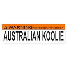 AUSTRALIAN KOOLIE Bumper Bumper Sticker