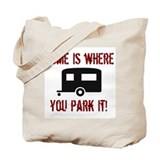 Home (Travel Trailer) Tote Bag