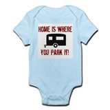 Home (Travel Trailer) Infant Bodysuit