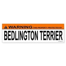 BEDLINGTON TERRIER Bumper Bumper Sticker