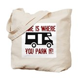 Home (RV) Tote Bag
