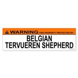 BELGIAN TERVUEREN SHEPHERD Bumper Bumper Sticker