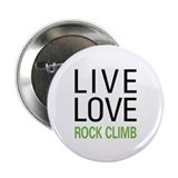 "Live Love Rock Climb 2.25"" Button (100 pack)"