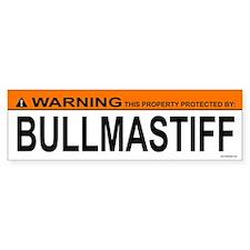 BULLMASTIFF Bumper Bumper Sticker