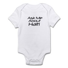 ASk me about Haiti Infant Bodysuit