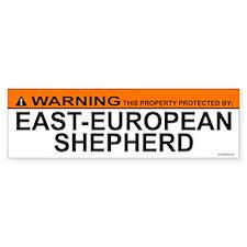 EAST-EUROPEAN SHEPHERD Bumper Bumper Sticker