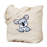 Pocket Koala Tote Bag