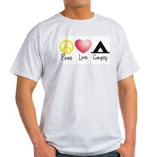 Peace, Love, Camping T-Shirt