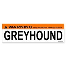GREYHOUND Bumper Bumper Sticker
