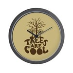 Trees Are Cool Wall Clock