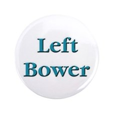 "Left Bower Euchre 3.5"" Button (100 pack)"