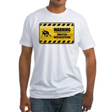 Warning Wrestler Shirt