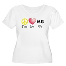 Peace, Love, RVing T-Shirt