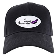 Butterfly Awareness 3 (Lupus) Baseball Cap