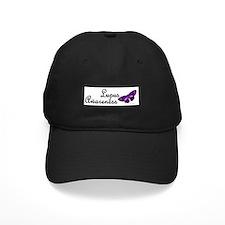 Butterfly Awareness 3 (Lupus) Baseball Hat