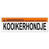 KOOIKERHONDJE Bumper Bumper Stickers