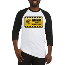Warning Welder Baseball Jersey