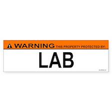 LAB Bumper Bumper Sticker