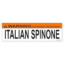 ITALIAN SPINONE Bumper Bumper Sticker