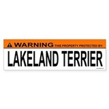 LAKELAND TERRIER Bumper Bumper Sticker